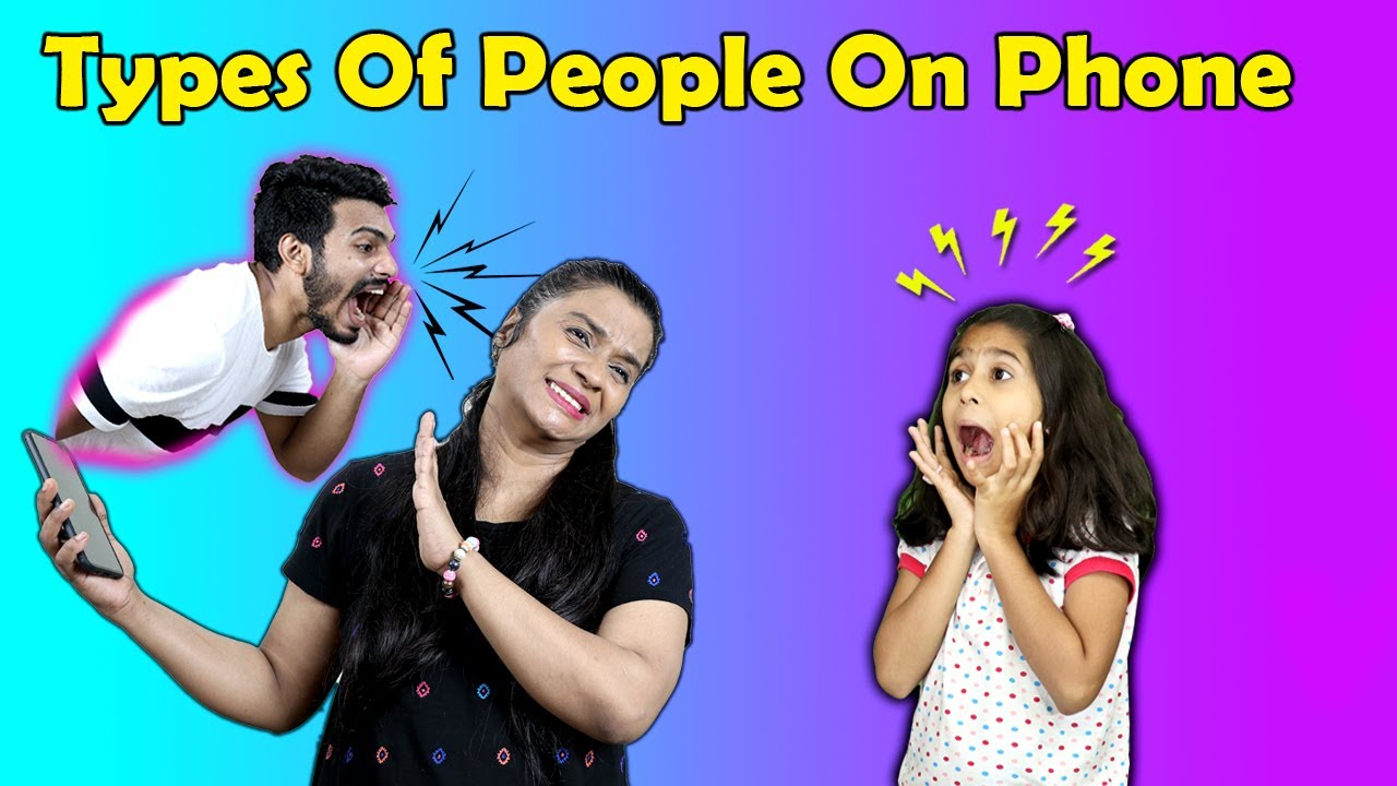 Types Of People Talking On Phone | Pari's Lifestyle