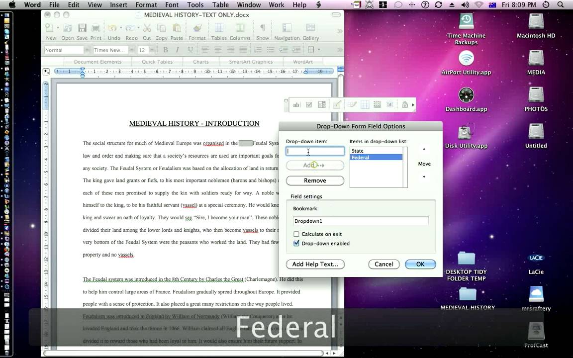 create pdf interactive from ms word
