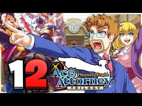 Phoenix Wright: Ace Attorney Trilogy HD Part 12 Steak Evidence? Turnabout Samurai (Switch)