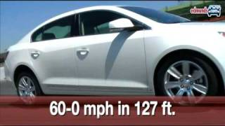 2010 Buick LaCrosse CXL 3.0 at the Track