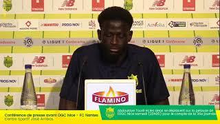 LIVE  - OGC Nice  FC Nantes | Conférence de presse d'avant-match