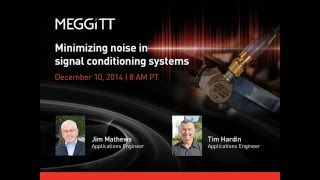Minimizing noise in signal conditioning systems