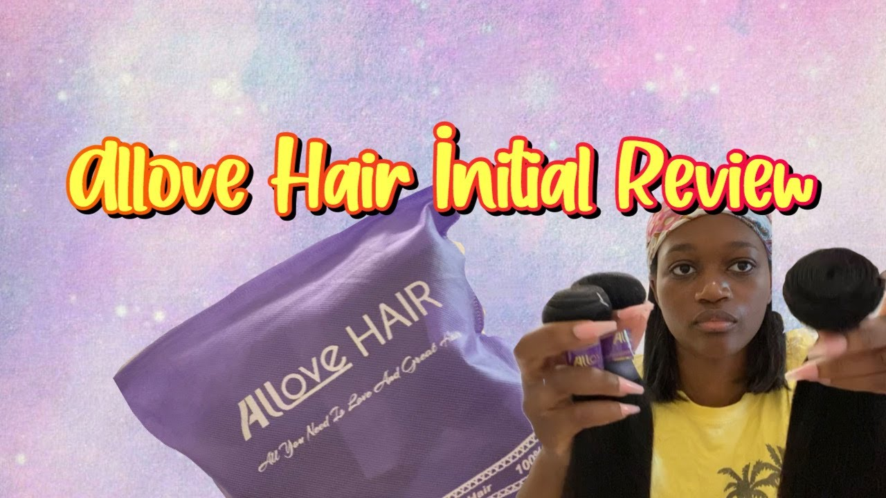 Allove Hair Initial Review|AliExpress Unboxing