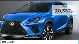 2018 Lexus NX 19JE0162A