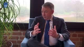 Kennismakingsgesprek met burgemeester Hans Vroomen gemeente Ommen