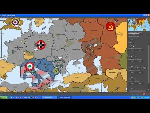 Let's Play TripleA - Episode 7 - Germany Pact of Steel - Nazi Juggernaut