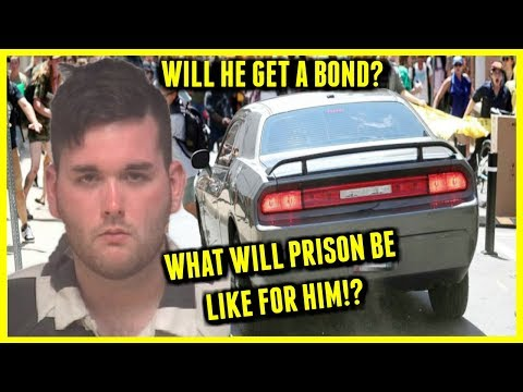 Charlottesville Protest Driver IN JAIL