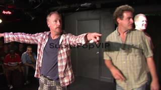 PERFORMANCE: Matt Walsh, Ian Roberts and Matt Besser joke...