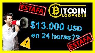 Gambar cover Bitcoin Loophole es ⛔ ESTAFA 100% ⛔【Opiniones 2019 en Español】