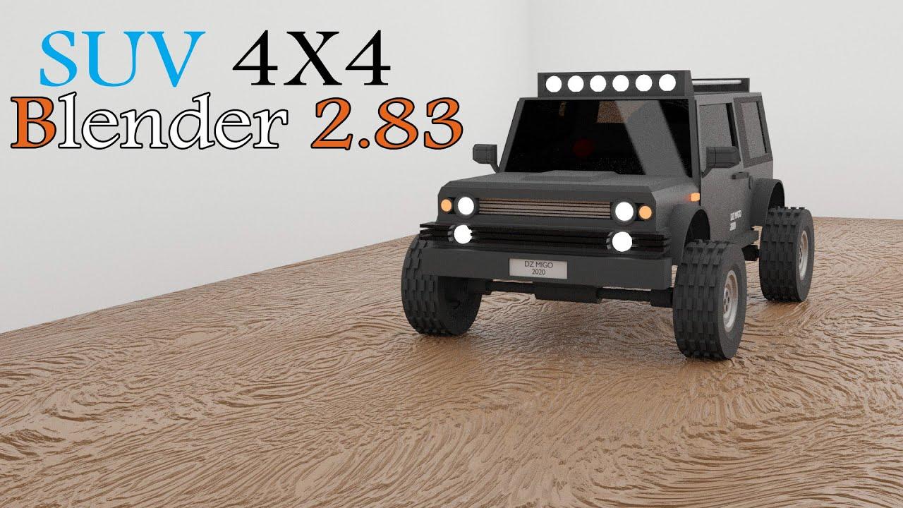 3D SUV - BLENDER 2.83