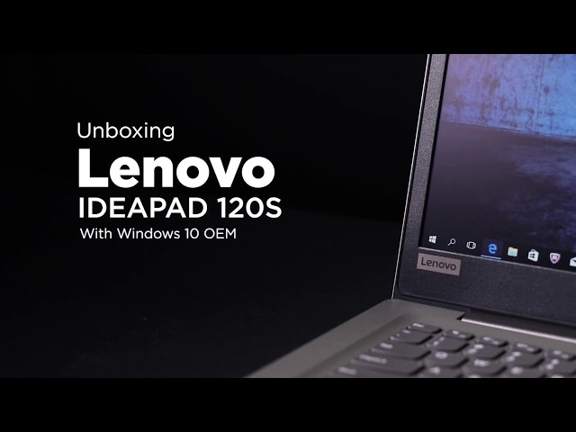 4508d319e4 Lenovo IdeaPad 120S-11IAP Black - Laptop