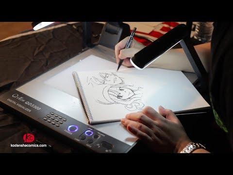 Watch Hiro Mashima draw Fairy Tail-Part 1