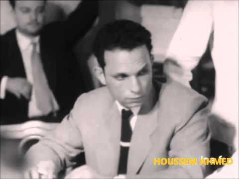 إجتماع مناظلي جبهة التحرير الوطني  الجزائرية بالقاهرة ماي 1956