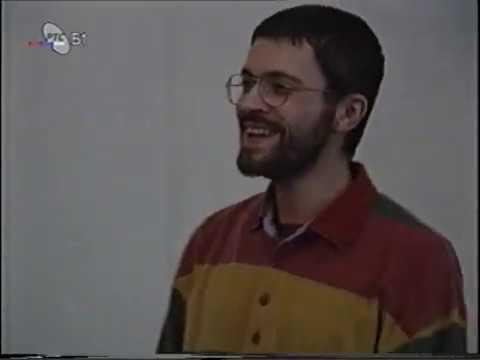 Pavel Nersessian in Belgrade in 1995 (by Karolina Mellen)