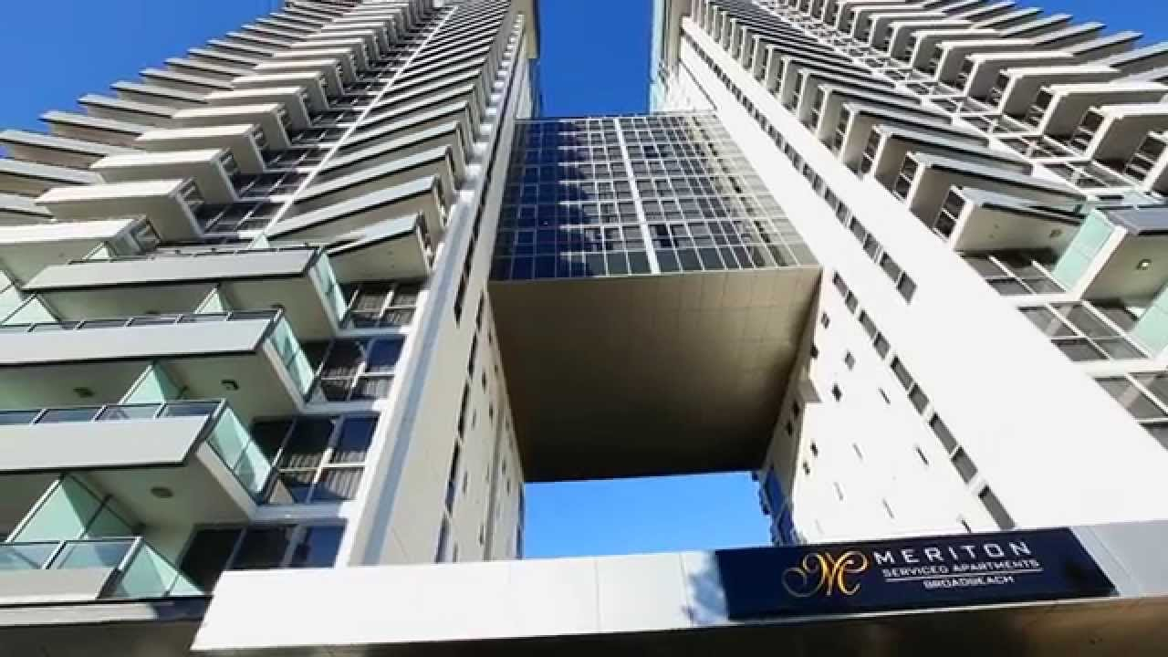 Broadbeach Meriton Serviced Apartment Gold Coast Australia   YouTube