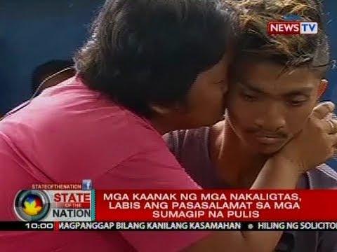 SONA: 5 karpinterong nailigtas sa Marawi, muling nakapiling ang kanilang mga mahal sa buhay
