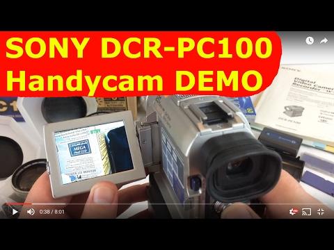Sony Handycam DCR-PC100