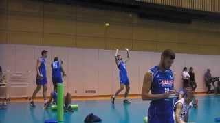 """#AzzurriVolley - Luca Vettori: """"palleggini"""" contro il muro"""