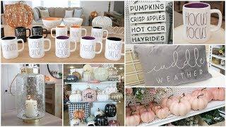 Fall Decor Shop With Me At Homegoods, JoAnns, Kohls + Haul   Rae Dunn Halloween & Home Decor