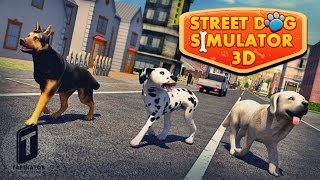 Street Dog Simulator 3D - Android Gameplay HD
