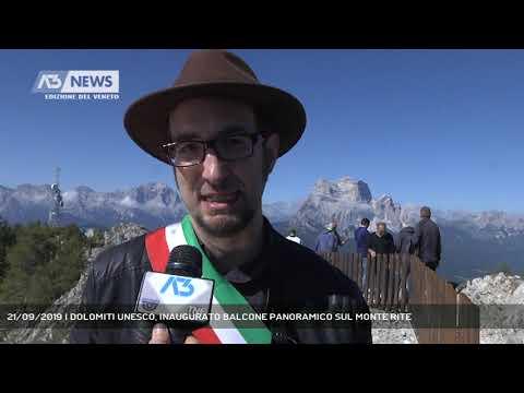 21/09/2019 | DOLOMITI UNESCO, INAUGURATO BALCONE P...