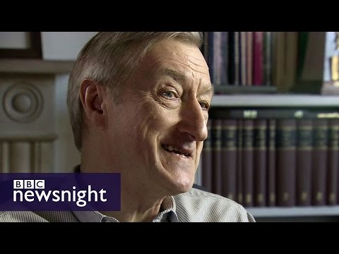 Julian Barnes on his new book, no platforming and more - BBC Newsnight