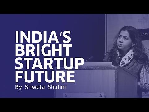 India's Bright Startup Future | Smt Shweta Shalini | BJPSpokesperson | Mumbai Startup Fest'17