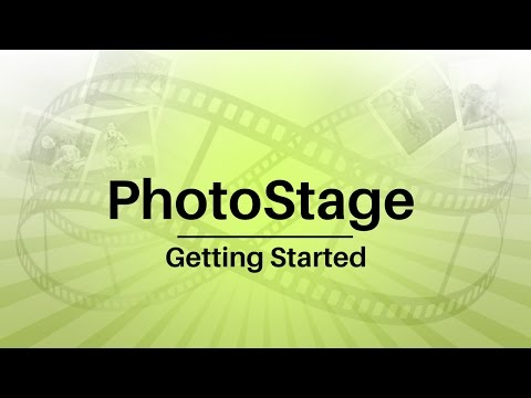 PhotoStage Slideshow Creator Tutorial - Getting Started
