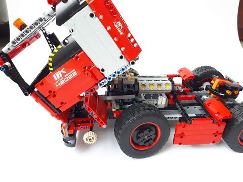 Lego Tractor Truck  42082 Model Alternative