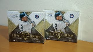 2017 Topps Triple Threads Baseball - 2 box break! MAJESTIC!