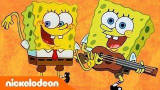 SpongeBob Schwammkopf | Top 13 SpongeBob Lieder | Nickelodeon Deutschland