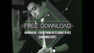 Скачать FREE DOWNLOAD Radiohead Everything In Its Right Place Sam Goku Edit
