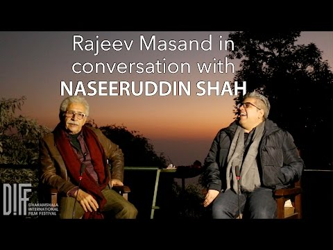 DIFF 2016 - Rajeev Masand in conversation with Naseeruddin Shah (Uncut)