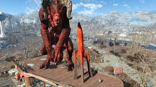 FALLOUT 4 - ALL GIANT MONSTERS FOUND