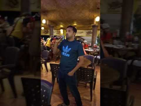 Karaoke singing @goa club