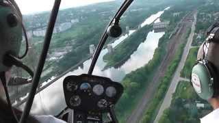 Полет на вертолете(Прогулка на вертолете в Клубе Аэросоюз., 2013-06-06T12:50:19.000Z)