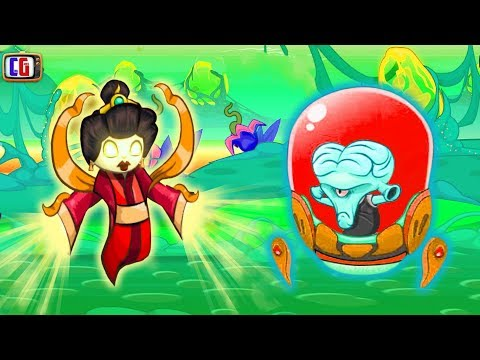 Tower Conquest НЕФРИТОВАЯ АРМИЯ против ПРИШЕЛЬЦЕВ Игровой мультик для детей про БОИ и СРАЖЕНИЯ