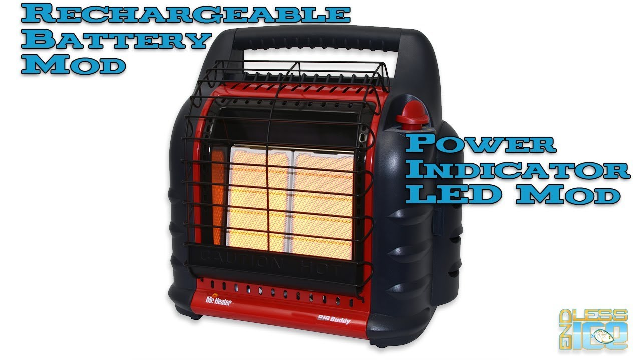 How To Convert Your Buddy Heater To A Rechargeable Battery