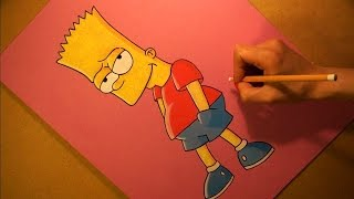 Drawing Bart Simpson Cartoon Character from The Simpsons.(This Speed Drawing video shows How to Draw Bart Simpson Cartoon Character from The Simpsons. Drawing Soft Pastel and other Art Materials. Art Time ..., 2016-04-22T10:05:53.000Z)