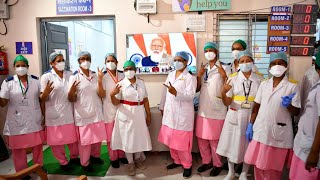 India launches world's largest Covid-19 vaccination campaign