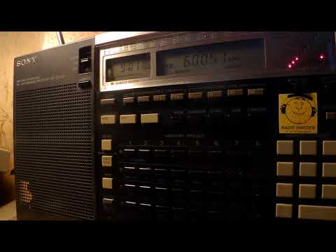 11 01 2018 Shortwaveservice relay Radio Belarus in German to CeEu 0900 on 6005 Kall