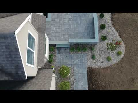 Patio recorded with spark drone new paltz NY