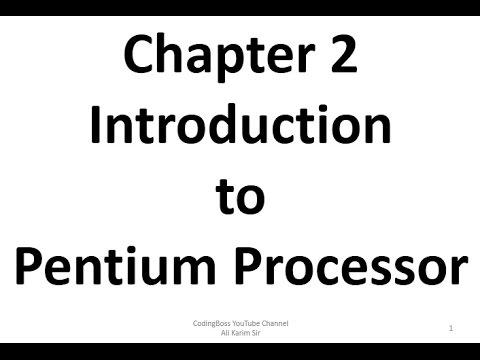 Pentium Processor Chapter 2 Advance Microprocessor Notes