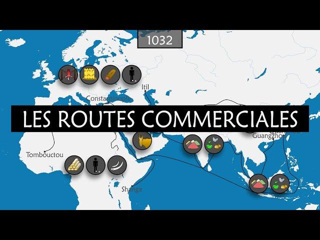 L'histoire des routes commerciales