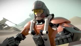 ЛЕГО Звездные войны новые сборные фигуры