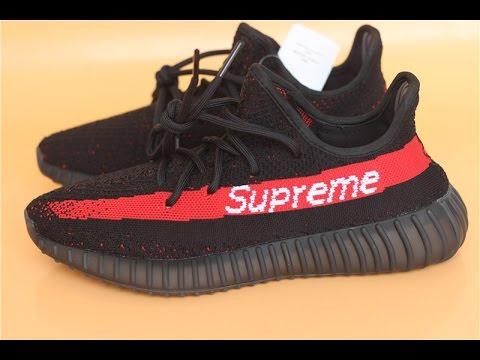 Early Look Yeezy Boost 350 V2 Supreme Review From Aj23shoes