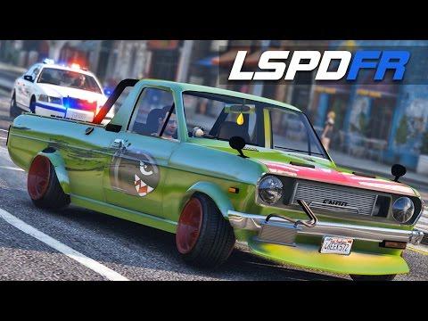LSPDFR E146 - Datsun Sunny K Truck Fish Art | Chase Me
