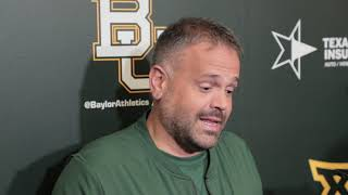 Coach Matt Rhule Bye Week Media Availability