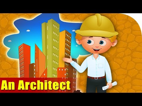 An Architect - Rhymes on Profession