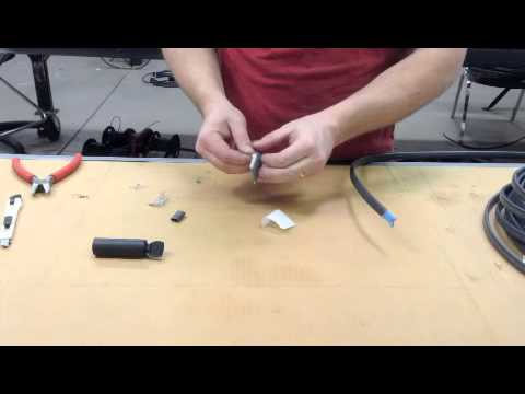 Heat Cable End Seal Tutorial
